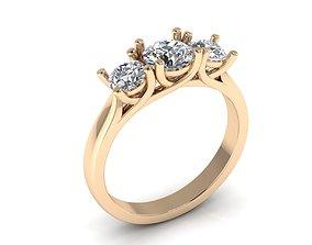 gold Ring 77 3D printable model