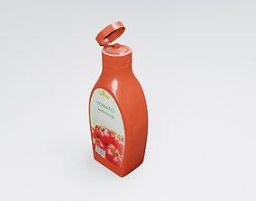 3D Ketchup Bottles