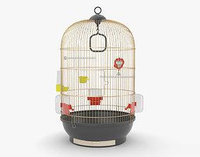 wire 3D Bird Cage