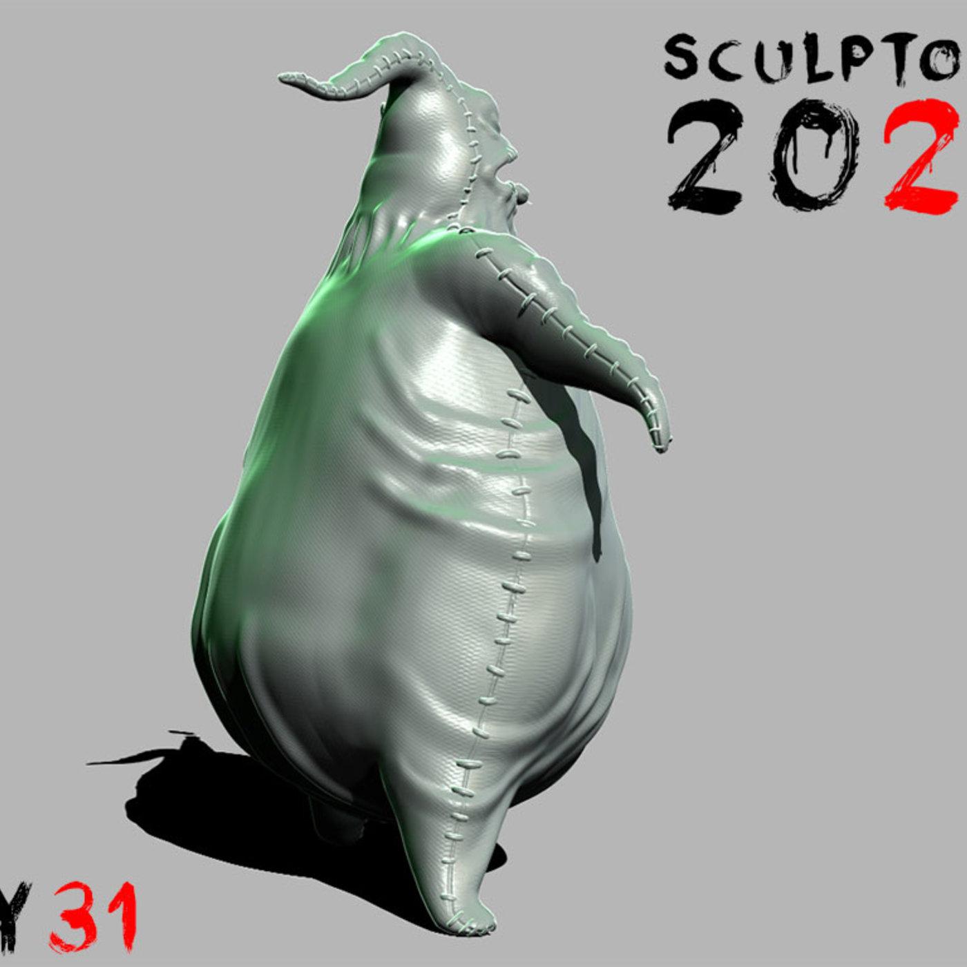 Sculptober Day 31 Villan