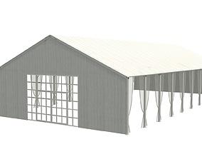 20x40x10 Industrial Meeting Tent 3D model