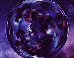 Nebula Space Environment HDRI Map 011 3D model
