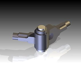 Knuckle Joint or Pin Joint 3D