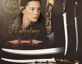 Arwen Sword - Hadhafang - Lord of the Rings 3D print model
