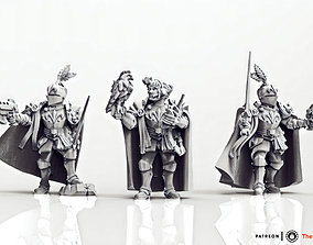 Feudal Guard Female Higher Officers 3D print model