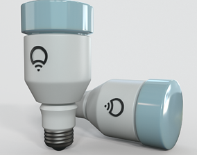 3D model Light Bulb glass