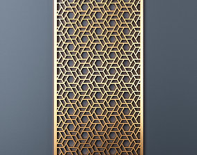 Decorative panel 214 3D