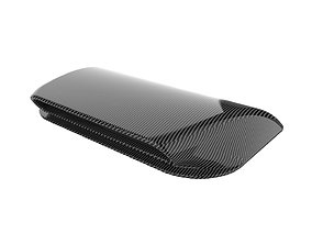 3D printable model Carbon fiber hood scoop