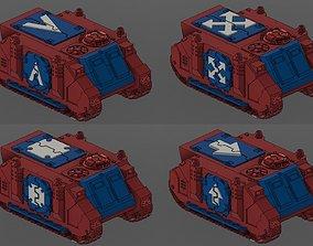 Deimos Rhino Conversion Kit W Squad 3D print model