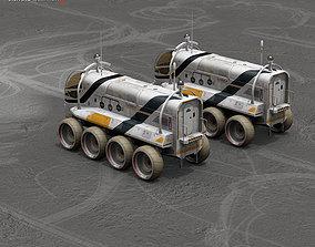 3D Moon or Mars rover