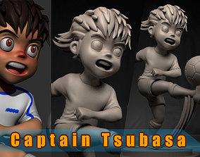 Captain Tsubasa 3D print model