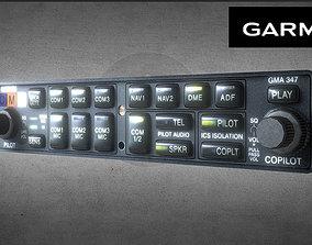 3D asset GARMIN GMA 347
