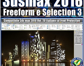 020 3ds max 2016 Freeform e Selection vol 20 cd