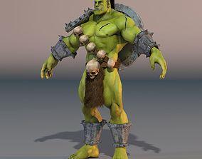 3D model Orc Troll Fantasy Character