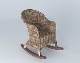 3D HAMPTON rocking chair Maisons du monde