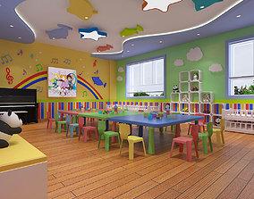 Kindergarten Classroom 01 class 3D