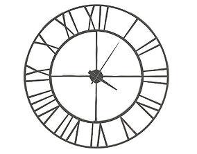 3D model Metal Wall Clock