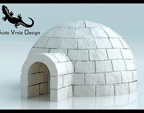 Igloo 3D model