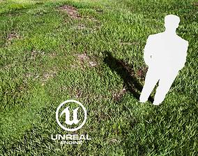 3D model Realistic Grass 05 - UE4 Asset and FBX