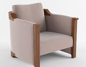 3D Carpo Club Chair Holly Hunt