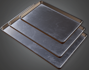 Cooking Pans - CLA - PBR Game Ready 3D asset