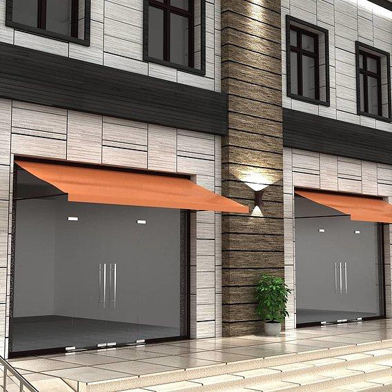 Market exterior design