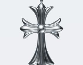 3D asset Chrome Cross