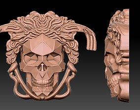 3D printable model skull skeletal-system