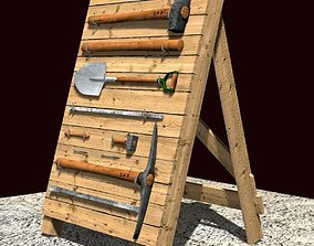 Toolholder - Tool Stand 3D asset