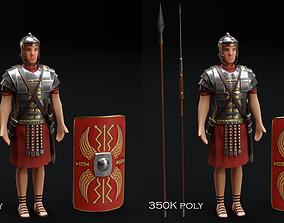 3D asset Roman Soldier 2
