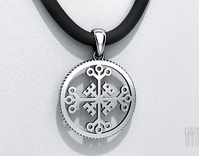 Pendant Celtic cross of invincibility for 3d printing and