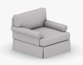 1105 - Armchair bar 3D asset