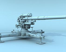 3D German FLAK 88 mm