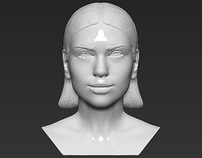 Dua Lipa bust 3D printing ready stl obj formats
