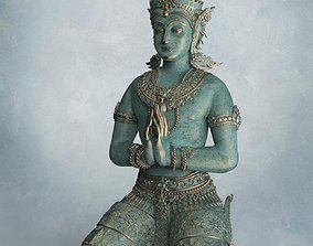 3D printable model The Angle Thai Siting Hand - Thai
