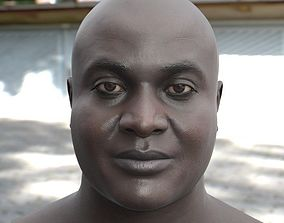 3D model Joseph head male realtime