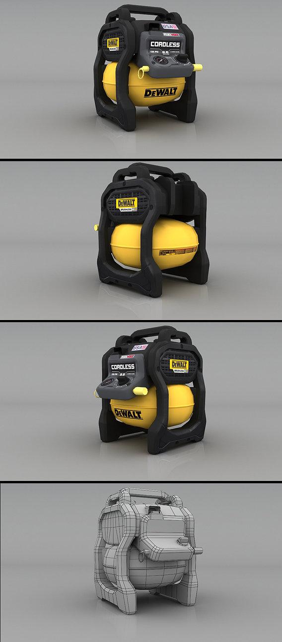DEWALT Gallon Compressor Render