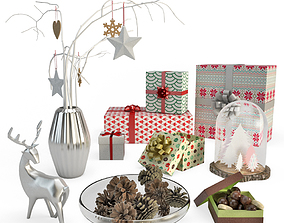 3D house Christmas Decoration