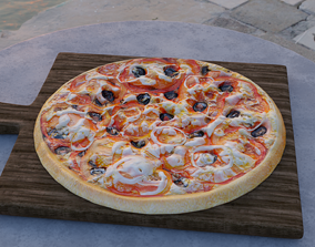 3D other bakery Pizza