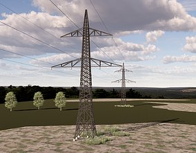 ELECTRCIC TOWER 2 3D model