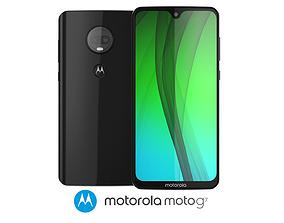 3D Motorola Moto G7 Black