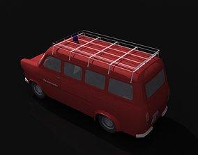 Fire Truck 3D model