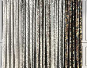 3D model Curtain Set 61