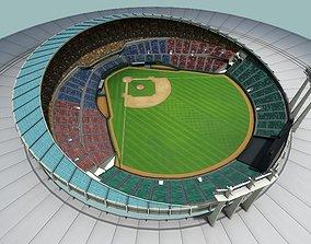 3D asset game-ready baseball stadium