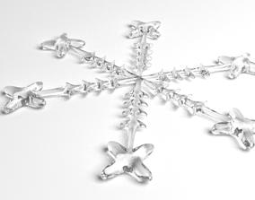 3D Snowflake 17