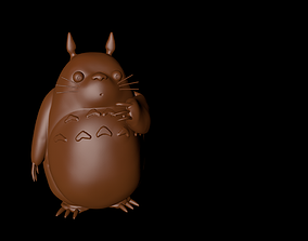 3D model character Totoro Choco