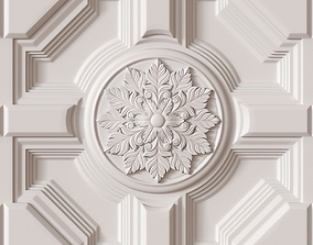3D model Decorative Ceiling Tile architectural