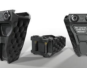 3D asset Railscales LDAG Vertical Grip