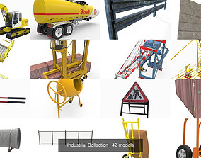 3D model Industrial Collection