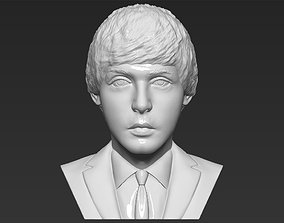 Paul McCartney bust 3D printing ready stl obj formats